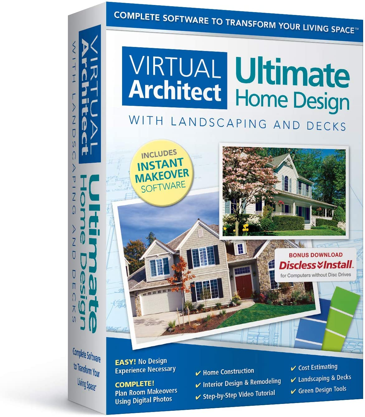 Virtual Architect Ultimate Home Design with Landscaping and Decks 12.12