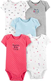 Carter's Baby Girls' Multi-pk Bodysuits 126g330