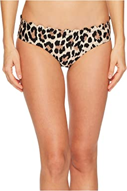 Kate Spade New York Crystal Cove #70 Scalloped Hipster Bikini Bottom