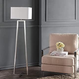 Safavieh Lighting Collection Lyell Nickle 60-inch Floor Lamp