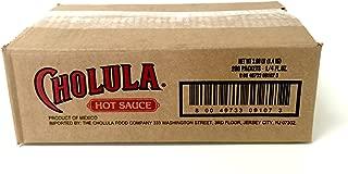 Cholula Hot Sauce (ORIGINAL, 200 PACKS (0.7 OZ EA))