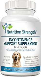 Best incontinence tablets for dogs Reviews
