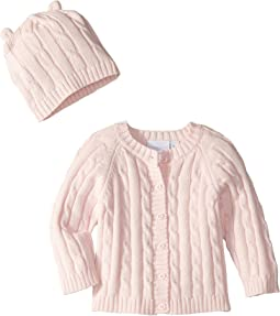 Cable Cardigan and Hat Boxed Set (Infant)