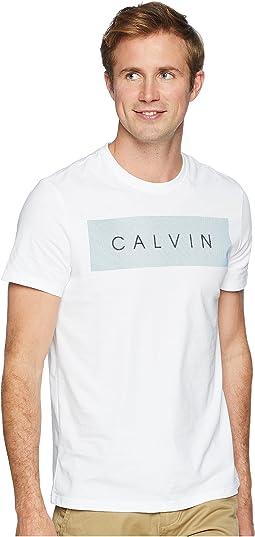Short Sleeve Calvin Logo Tee