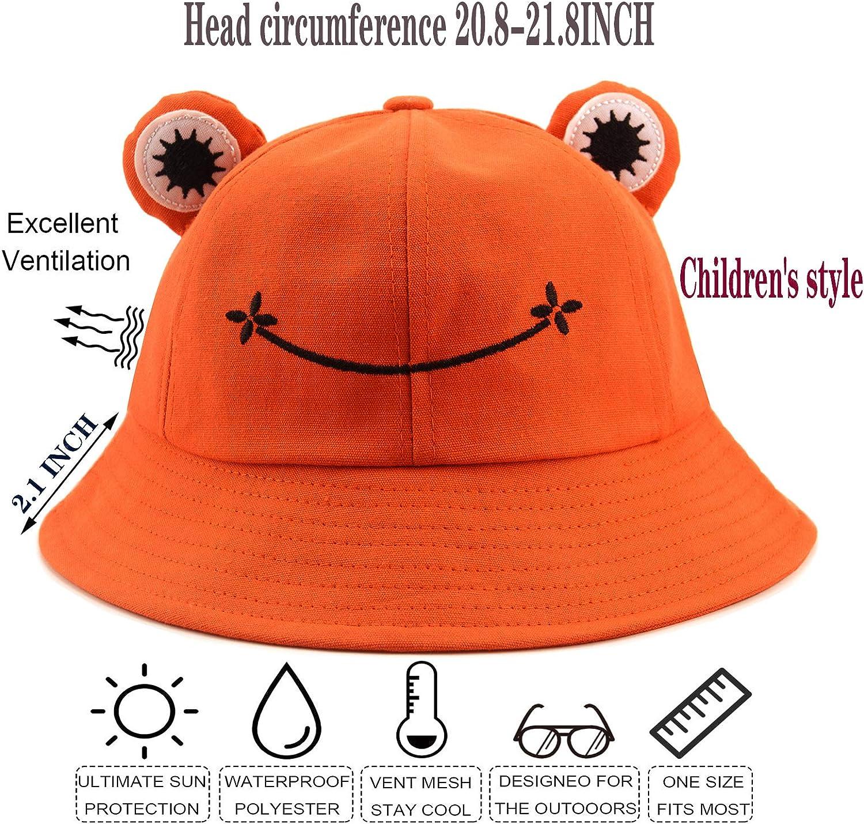 BenPo bar Frog Bucket hat Black Men Fisherman hat Womens Bucket Hats for Women Mens Hats Summer Beanie hat Ladies Hats for Ladies Sun hat Beanie Funny Novelty Festival Womens Mens Hats /& caps