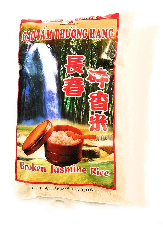 Asian Taste Broken Selling Jasmine Rice Lbs 5 2 safety Pack