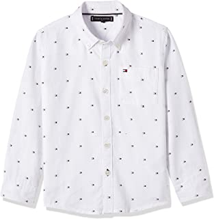 Tommy Hilfiger Boy's Flag Oxford Long Sleeves Shirt