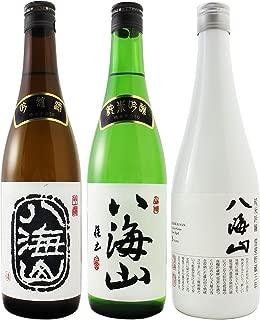 〔セット商品〕八海山 ( はっかいさん ) 吟醸 + 純米吟醸 + 純米吟醸 雪室貯蔵三年 720ml 3本セット