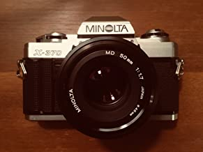 Minolta X-370 Film Camera With A Standard 50mm f/1.7 Lens
