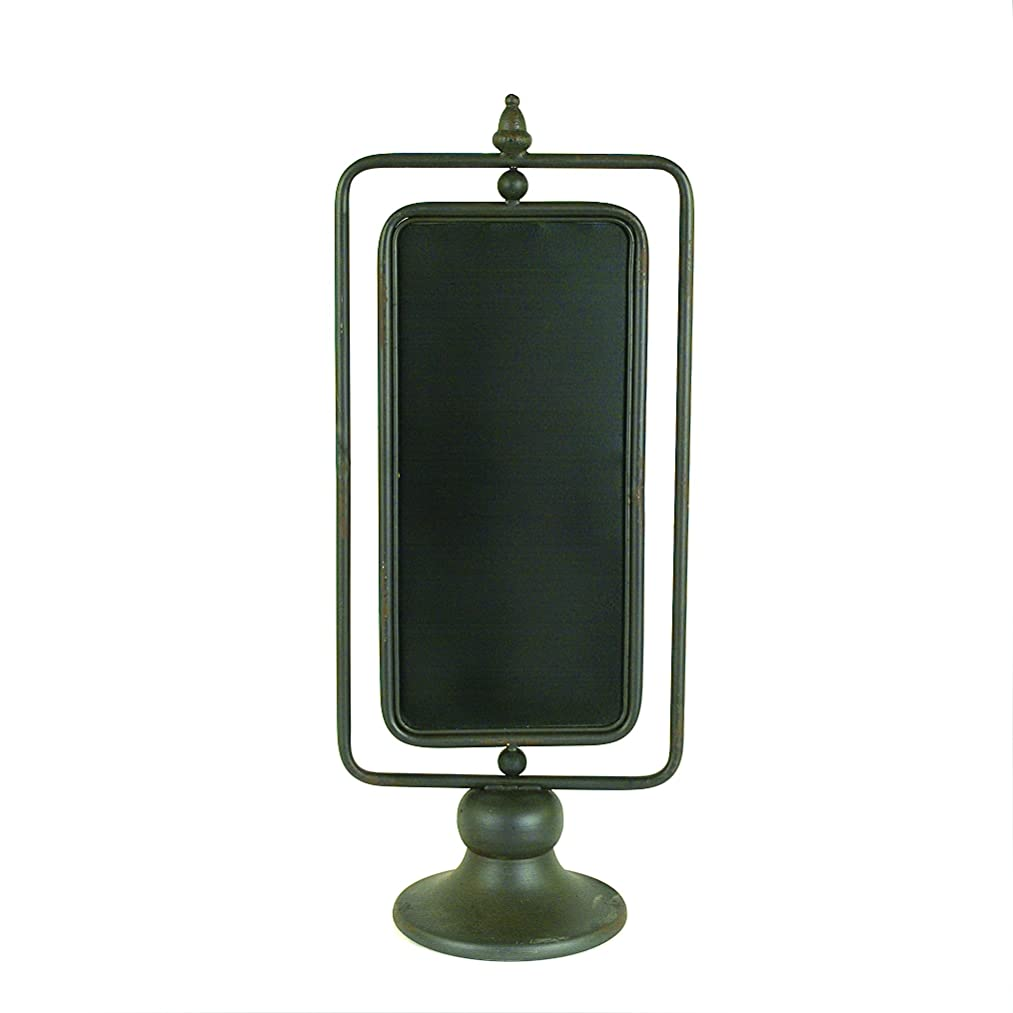Creative Co-op Metal 2 Sided Chalkboard on Stand