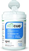 Rescue One-Step Disinfectant Cleaner & Deodorizer Wipes, 6x7 inch (160 Wipes)