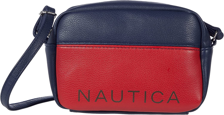 Nautica Candid Two-Tone Camera Crossbody