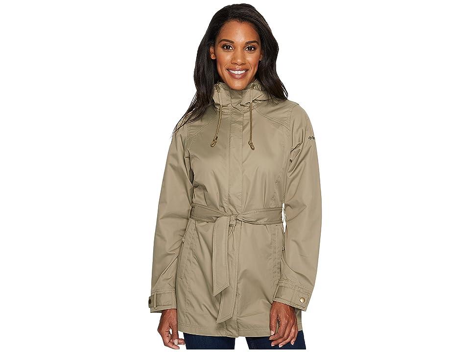 Columbia Pardon My Trenchtm Rain Jacket (Sage) Women