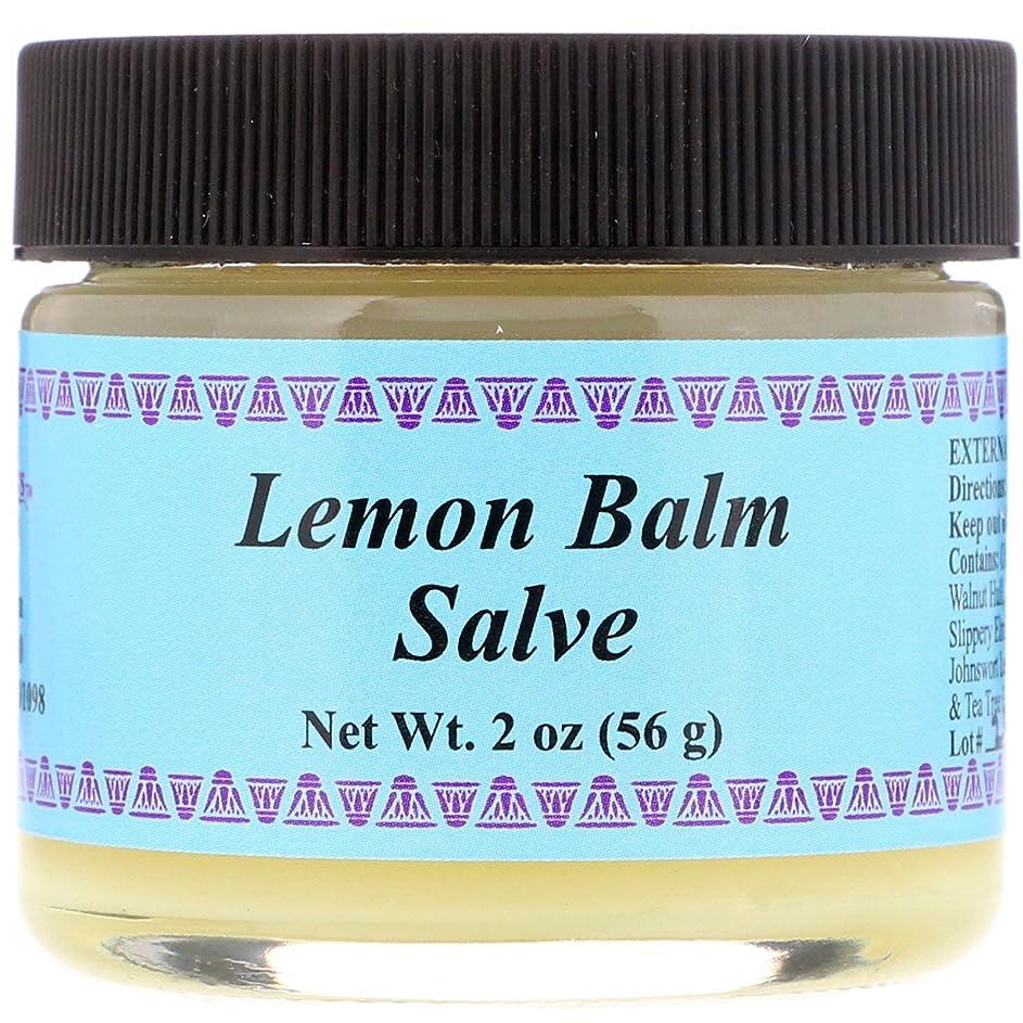 ラダ圧力しわWiseWays Herbals: Salves for Natural Skin Care, Lemon Balm Cream 2 oz by Lotus Light [並行輸入品]