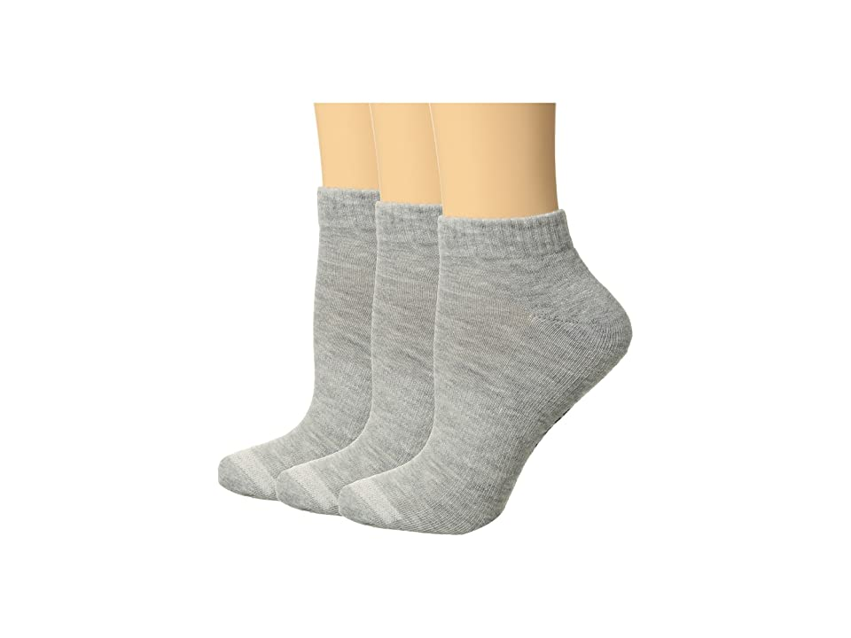 3f953d2b6049 Converse 3-Pack Foundational Made for Chuck High (Grey) Men s Crew Cut Socks  Shoes