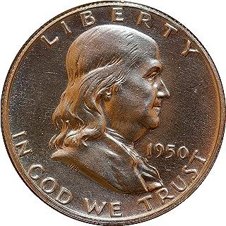 1950 P Franklin Half Dollar - Gem Proof - PF/PR