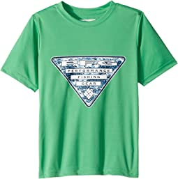 Columbia Kids - PFG Triangle Fill Short Sleeve Shirt (Little Kids/Big Kids)
