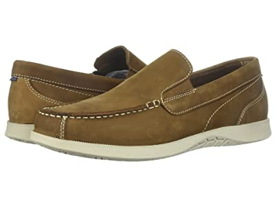 Nunn Bush Bayside Lites Venetian Moc Toe Slip-On (Tan) Men