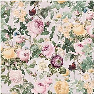 Papel pintado adhesivo - Vintage Floral Illustration XXL - 288 x 288cm