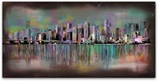 Miami by Ellicia Amando, 10x19-Inch Canvas Wall Art