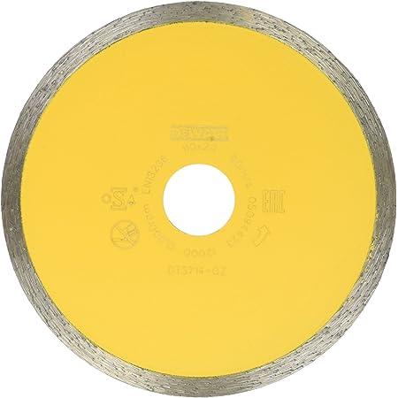 0 V 0 W Dewalt DT3734-XJ DT3734-XJ-Disco de Diamante para Corte en h/úmedo de azulejo 250x25.4mm-Porcelana//Piedras