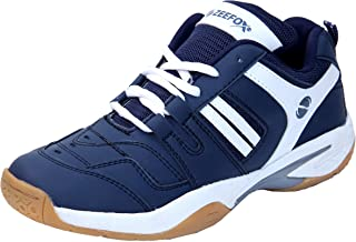 ZEEFOX Men's Ryder Non-marking PU Badminton Shoes