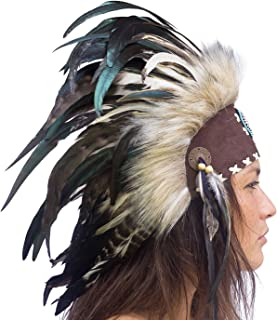 Adjustable! Native American Indian Style Headdress | Many Colors