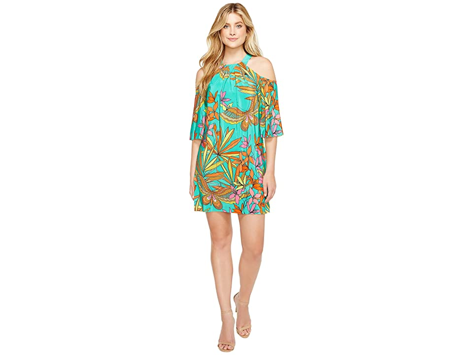 Trina Turk Spirit Dress (Cabana Teal) Women
