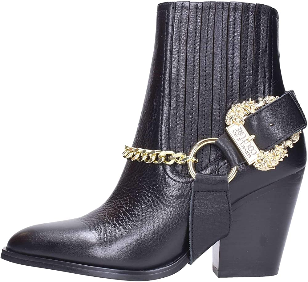 Versace jeans couture stivaletto donna in pelle E0VUBS1071161899