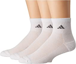 adidas climacool® Superlite 3-Pack Quarter Socks