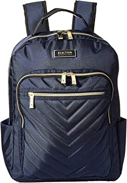 Polyester Twill Chevron Backpack