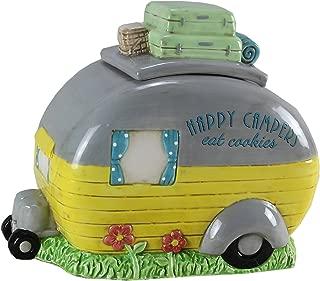 Young's Ceramic Camper Cookie Jar, 9.5