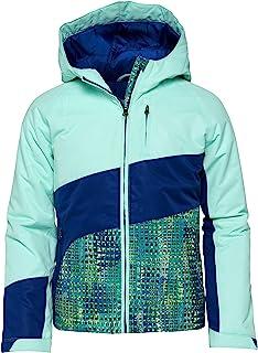 Arctix Girls Girls Frost Insulated Winter Jacket, Island Azure, 4T
