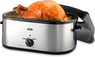 Best Oster 20-Quart Roaster with Self-Basting, High-Dome Lid, Brushed Stainless Steel - CKSTRS20-SBHVW Review