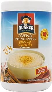 Quaker Avena with Cinnamon 11.6 OZ Instant Oats Cinnamon Cereal Mix