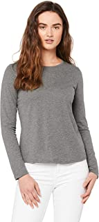 Mossimo Women's Times up Cross Back ls tee