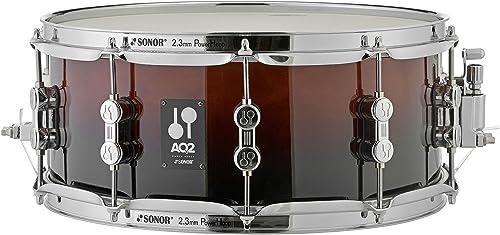 costo real AQ2 Snare 14 14 14 x6  BRF marrón Fade  venta con descuento