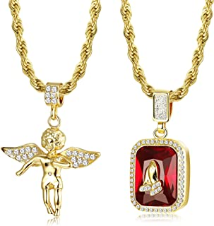 gold plated necklace set online shopping