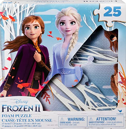 2021 Disney outlet online sale Frozen 2 25-Piece Jigsaw Puzzle sale for Families, Kids, and Preschoolers Ages 4 and up sale