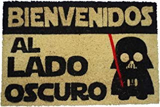 comprar comparacion koko doormats - Felpudos Originales y Divertidos para la Entrada de casa - Bienvenido al Lado Oscuro - PVC, Coco, 40 x 60 cm