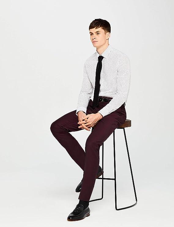 find. 2 Pack Slim Shirt Camisa Hombre (Pack de 2) : Amazon.es ...