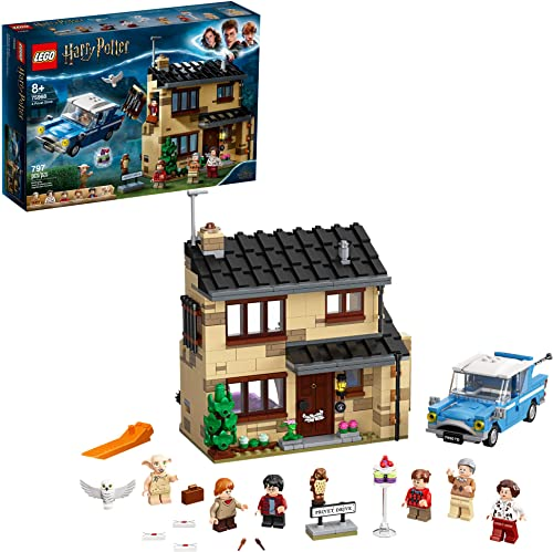 discount LEGO online sale Harry Potter wholesale 4 Privet Drive 75968; Fun Children's Building Toy for Kids Who Love Harry Potter Movies, Collectible Playsets, Role-Playing Games and Dollhouse Sets (797 Pieces) outlet sale