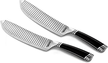 casaWare Groovetech 2-Piece All Purpose 8-Inch Knife Set