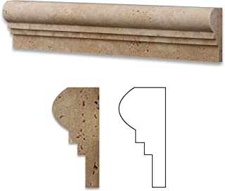 stone chair rail molding