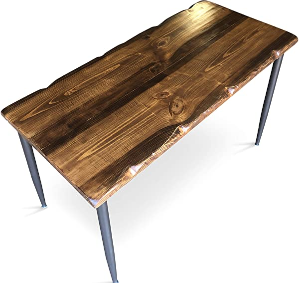 UMBUZ Solid Reclaimed Wood Steel Desk