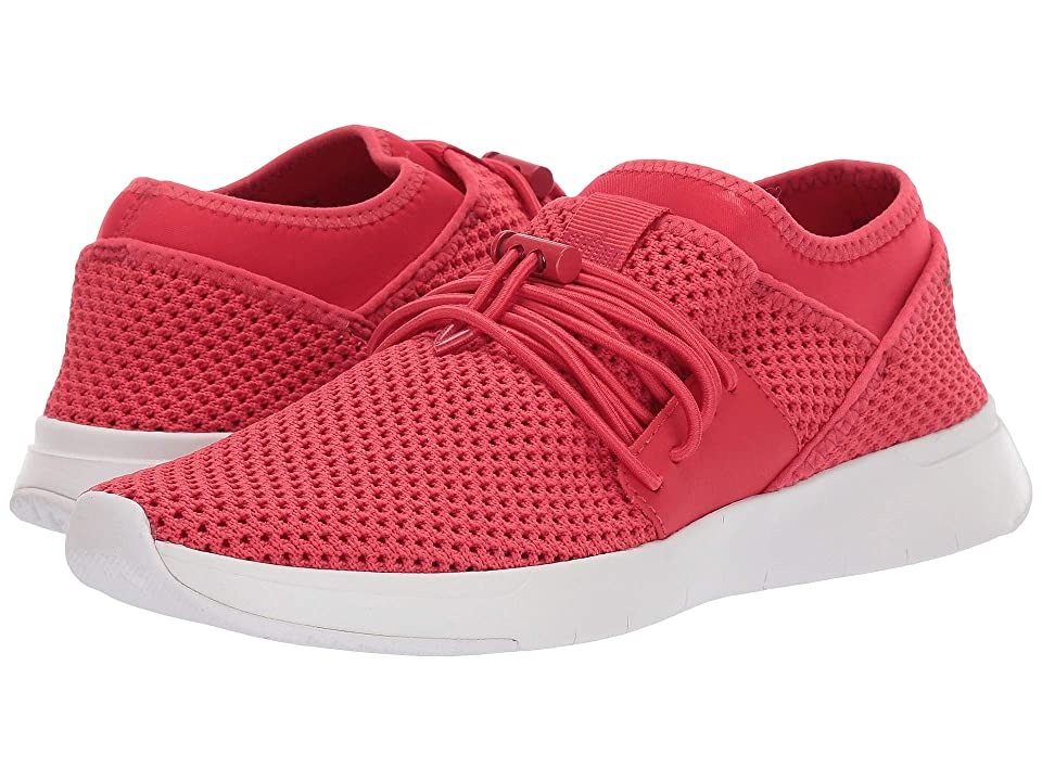 FitFlop Air Mesh Lace-Up (Passion Red/White) Women