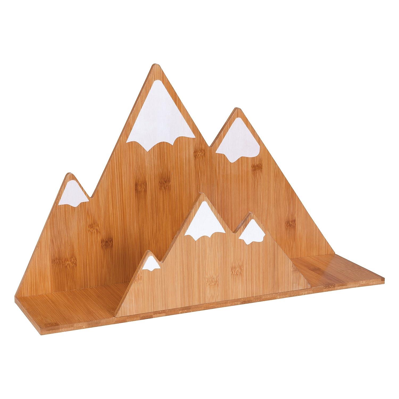 San Francisco Mall Trend Lab Bamboo Same day shipping Wall Shelf Mountain