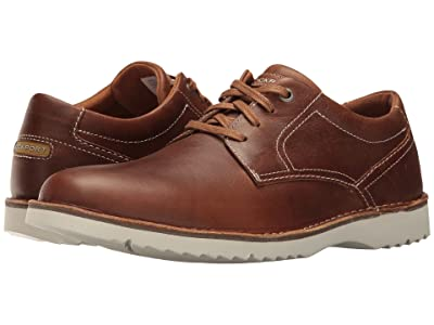Rockport Cabot Plain Toe (Tan Leather) Men