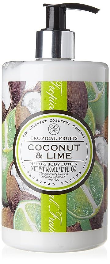報告書聞きます時刻表Tropical Fruits Coconut & Lime Hand & Body Lotion 500ml