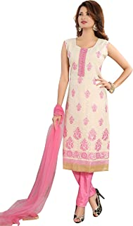 Cotton Jacquard Straight Kameez